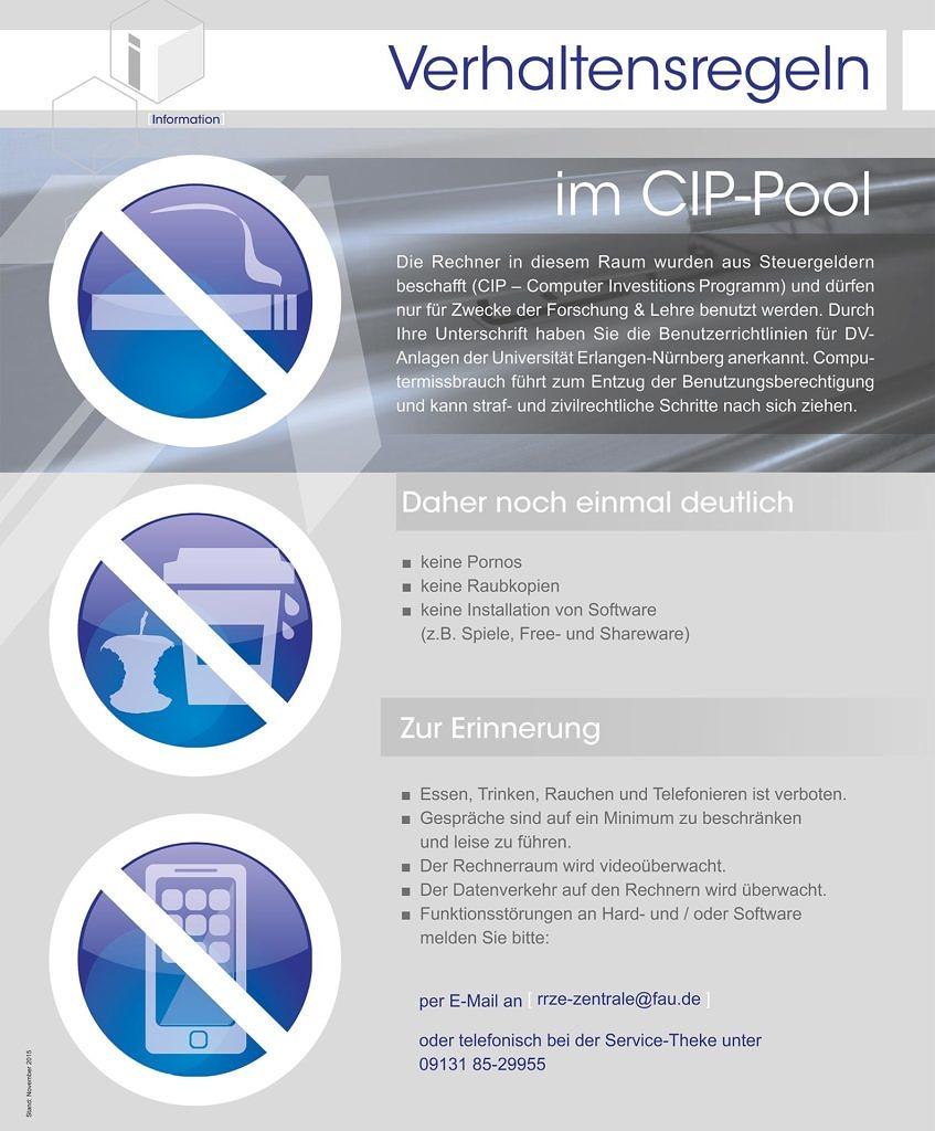 Plakt zum Thema Cip-Pols