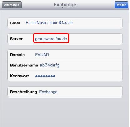 """Fenster """"Exchange"""""""