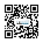 Das Bild zeigt den QR-Code zur eduroam-Konfiguration: eduroam Konfigurationsprofile: https://cat.eduroam.org/