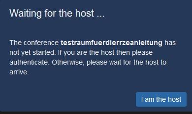 Host-Bestätigung