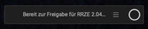 ClickShare Button ist bereit